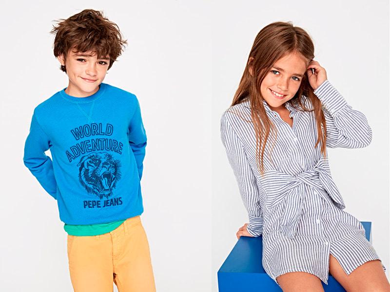 pepe jeans junior ss18 via moda andorra